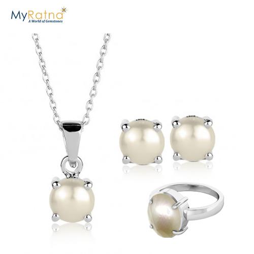 June Birthstone Jewelry Set