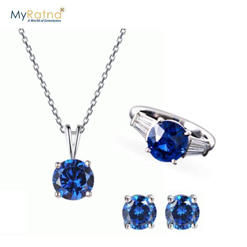 September Birthstone Jewelry Set