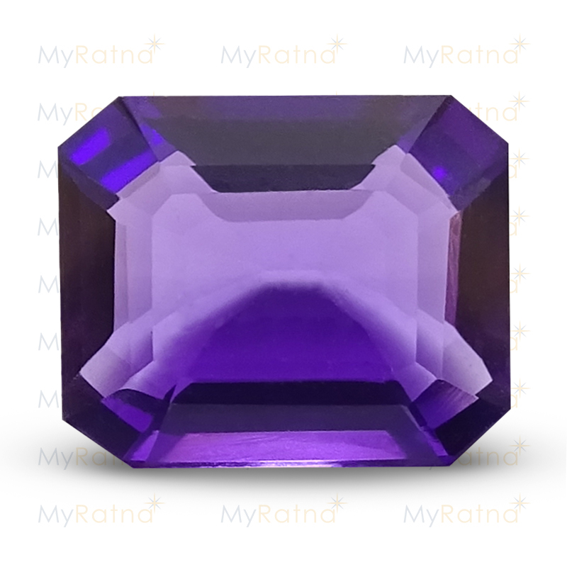 Certified Natural Amethyst 6.3 Ct (Brazil) - Limited - MyRatna