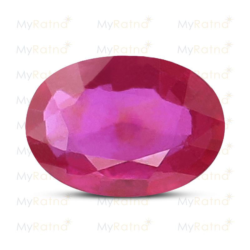 Certified Natural Ruby 7.82 Ct (Bangkok) - Prime - MyRatna