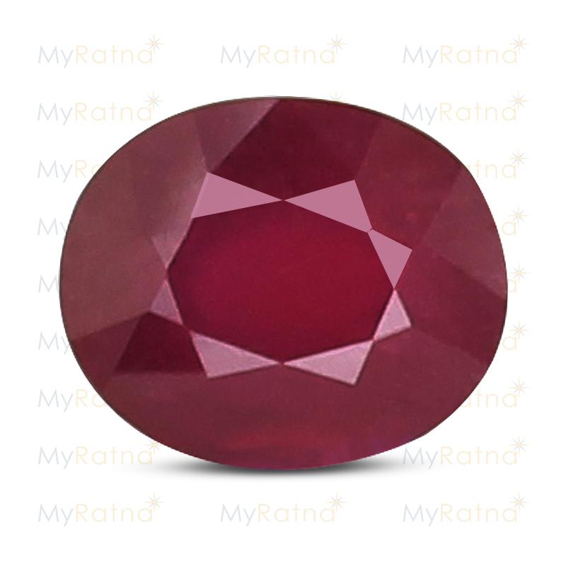 Certified Natural Ruby 7.51 Ct (Bangkok) - Fine - MyRatna