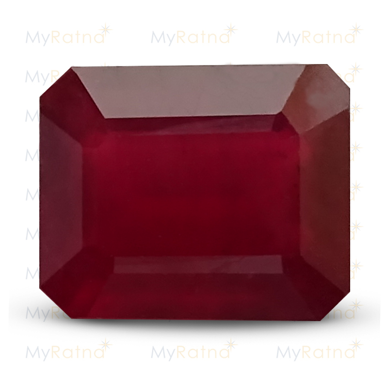 Certified Natural Ruby 5.79 Ct (Bangkok) - Prime - MyRatna