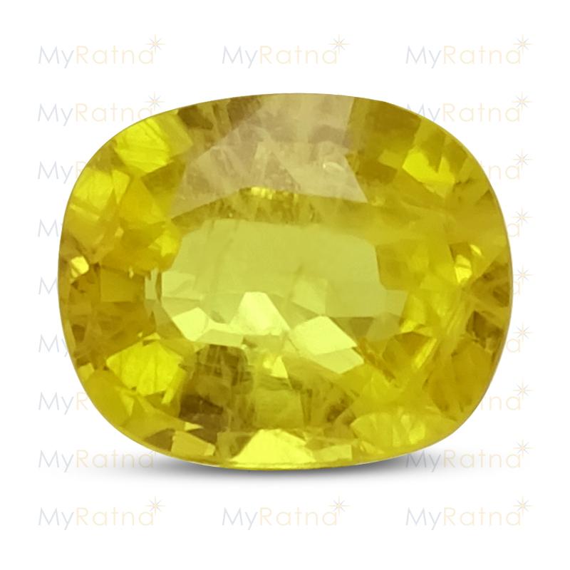 Yellow Sapphire - BYS 6520 (Origin - Thailand) Prime - Quality - MyRatna