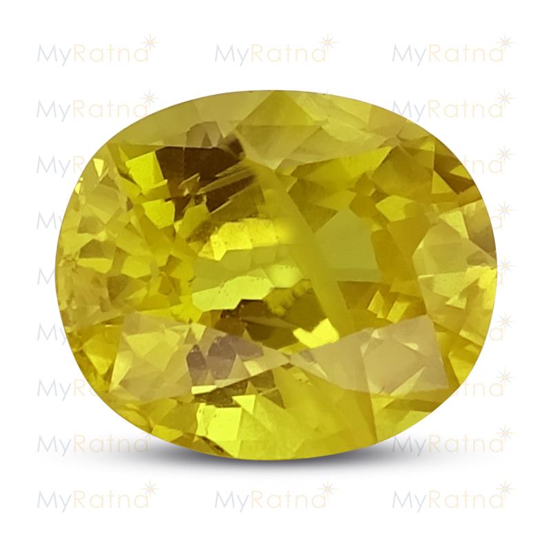 Yellow Sapphire - BYS 6522 (Origin - Thailand) Prime - Quality - MyRatna