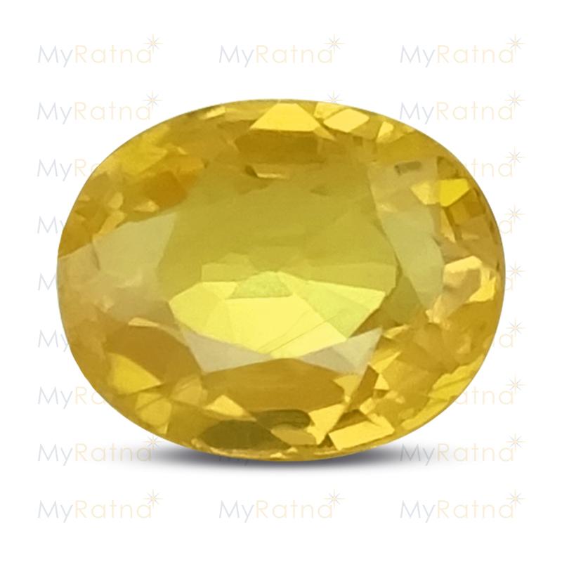 Yellow Sapphire - BYS 6524 (Origin - Thailand) Prime - Quality - MyRatna