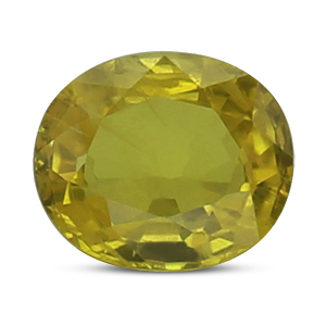 Yellow Sapphire - BYS 6531 (Origin - Thailand) Prime -Quality - MyRatna