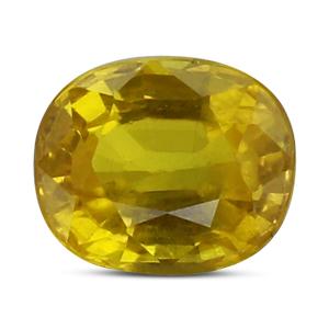 Yellow Sapphire - BYS 6537 (Origin - Thailand) Limited -Quality - MyRatna