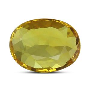 Yellow Sapphire - BYS 6540 (Origin - Thailand) Prime -Quality - MyRatna