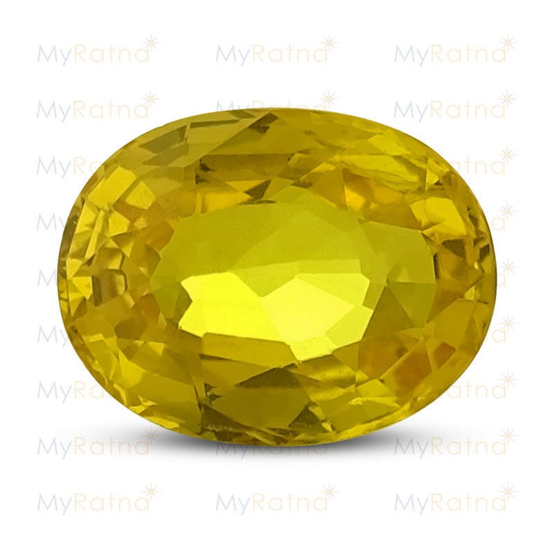 Yellow Sapphire - BYS 6543 (Origin - Thailand) Limited - Quality - MyRatna