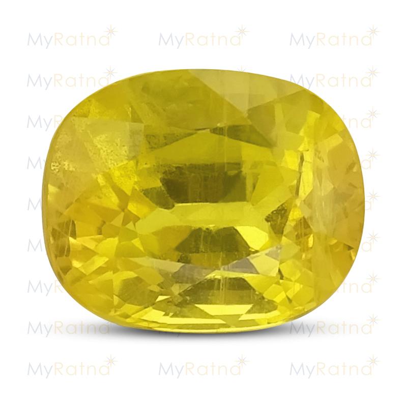 Yellow Sapphire - BYS 6548 (Origin - Thailand) Fine - Quality - MyRatna