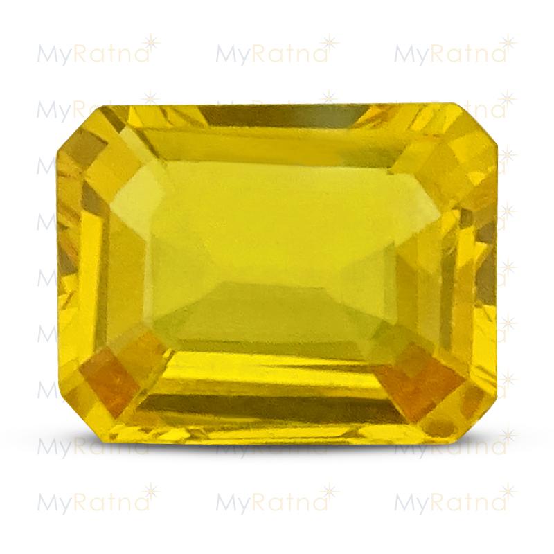 Yellow Sapphire - BYS 6560 (Origin - Thailand) Limited - Quality - MyRatna