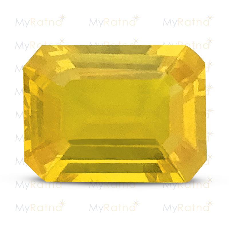 Yellow Sapphire - BYS 6562 (Origin - Thailand) Limited - Quality - MyRatna