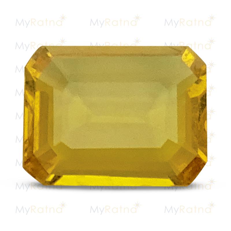 Yellow Sapphire - BYS 6563 (Origin - Thailand) Limited - Quality - MyRatna
