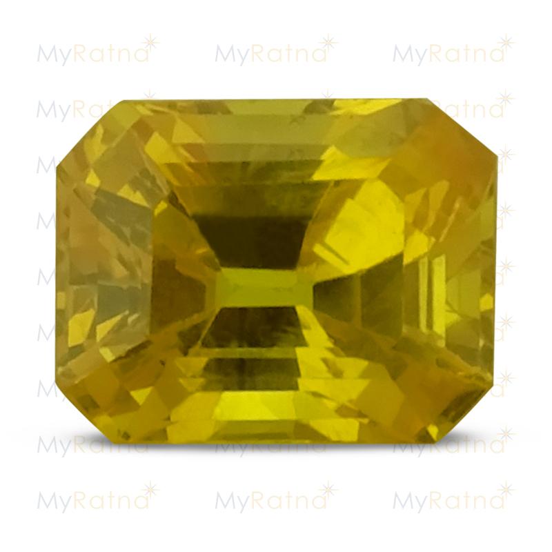 Yellow Sapphire - BYS 6573 (Origin - Thailand) Limited - Quality - MyRatna