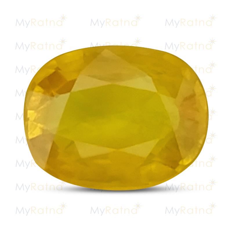Yellow Sapphire - BYS 6581 (Origin - Thailand) Prime - Quality - MyRatna