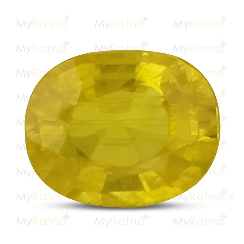 Yellow Sapphire - BYS 6587 (Origin - Thailand) Prime - Quality - MyRatna