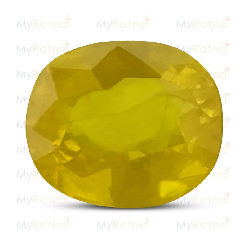 Yellow Sapphire - BYS 6588 (Origin - Thailand) Prime - Quality - MyRatna