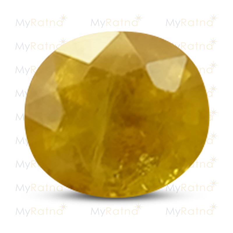 Yellow Sapphire - BYS 6600 (Origin - Thailand) Fine - Quality - MyRatna