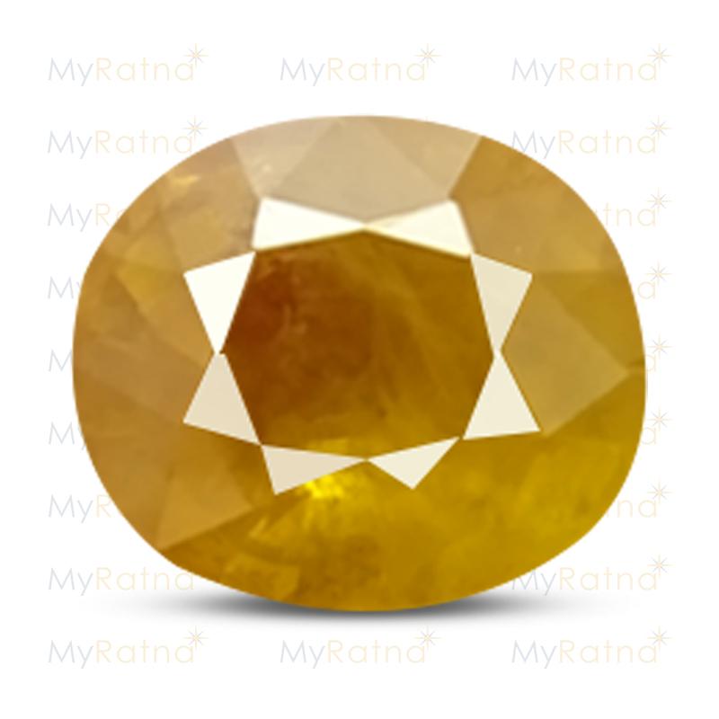 Yellow Sapphire - BYS 6602 (Origin - Thailand) Fine - Quality - MyRatna