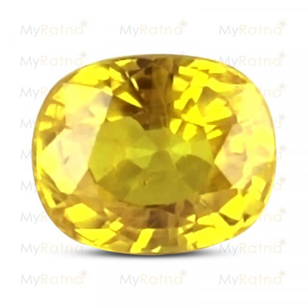 Yellow Sapphire - BYS 6632 (Origin - Thailand) Prime - Quality - MyRatna