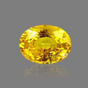 Yellow Sapphire - BYS 6639 (Origin - Thailand) Limited - Quality - MyRatna