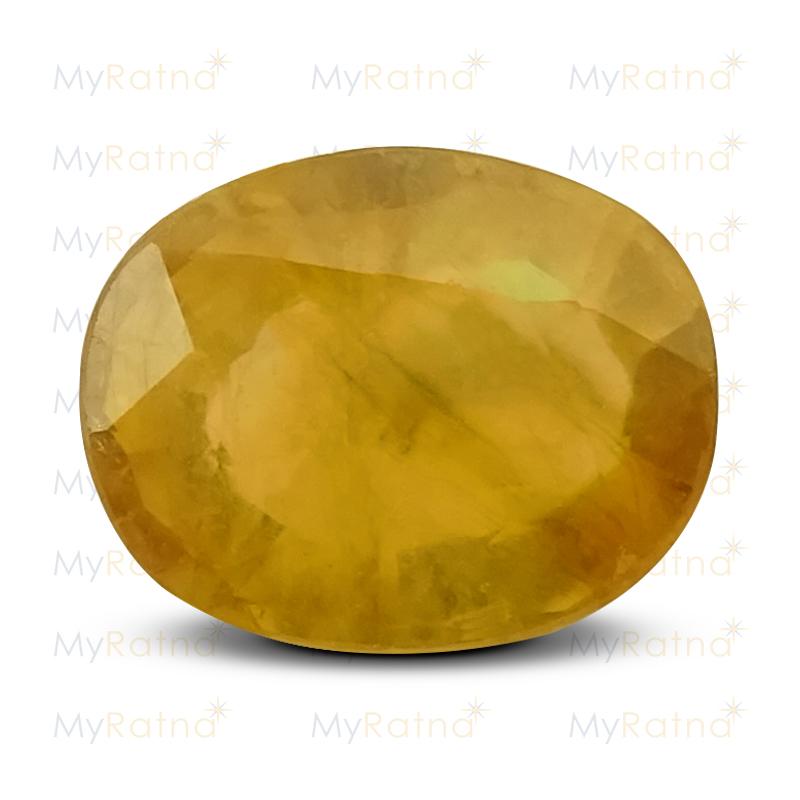 Yellow Sapphire - BYSGF 12001 (Origin - Thailand) Fine Quality - MyRatna