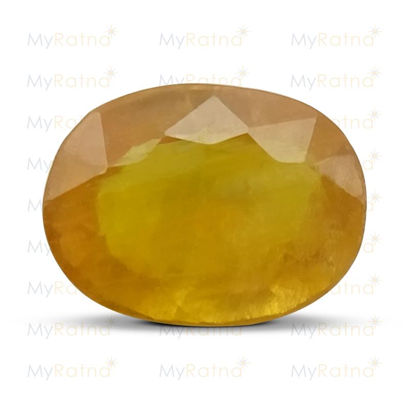 Yellow Sapphire - BYSGF-12016 (Origin - Thailand) Fine - Quality - MyRatna