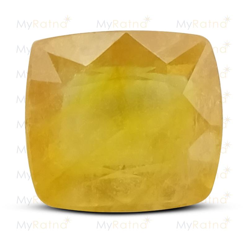 Yellow Sapphire - BYSGF-12017 (Origin - Thailand) Fine - Quality - MyRatna