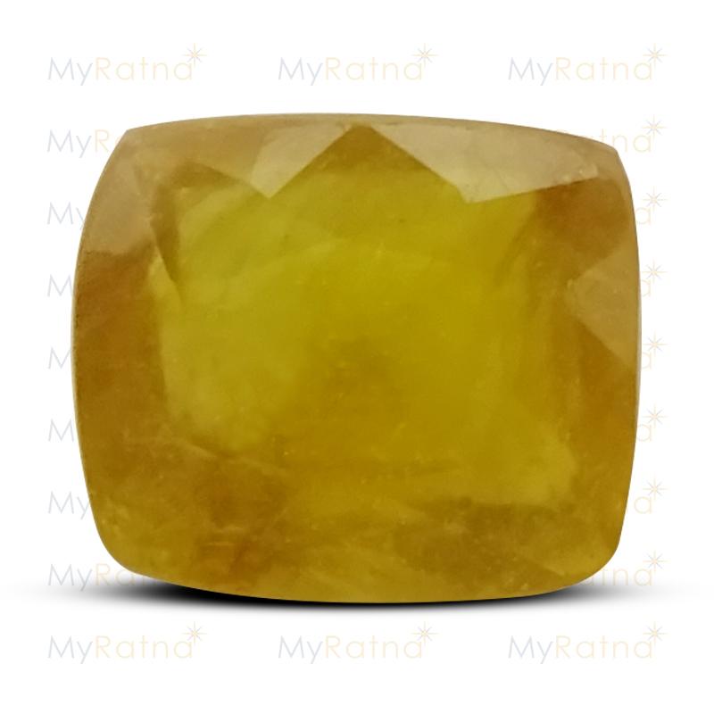 Yellow Sapphire - BYSGF-12020 (Origin - Thailand) Fine - Quality - MyRatna