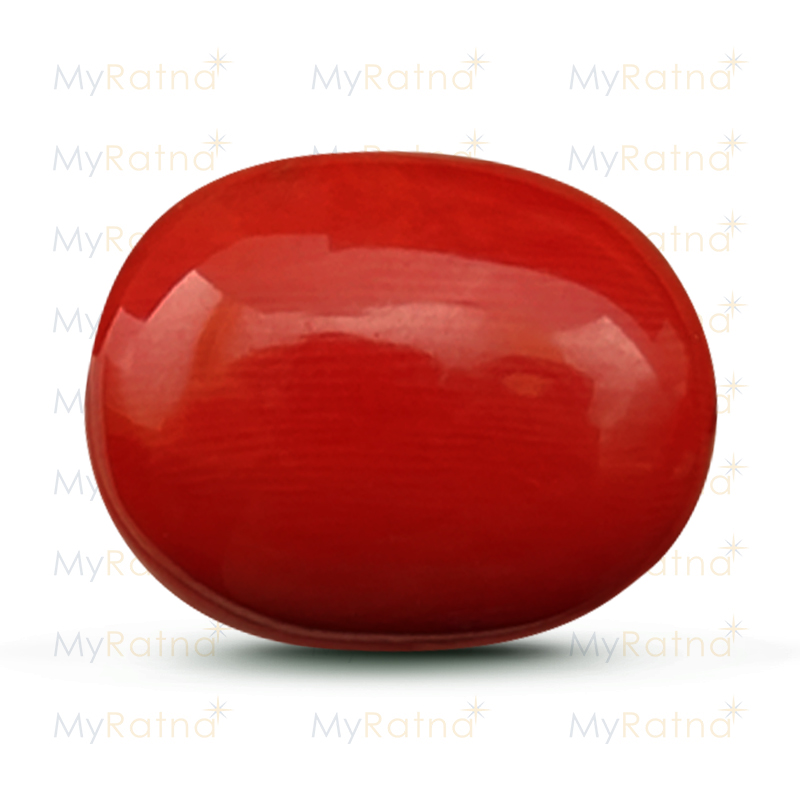 Certified Natural Red Coral 17.91 Ct (Italy) - Limited - MyRatna