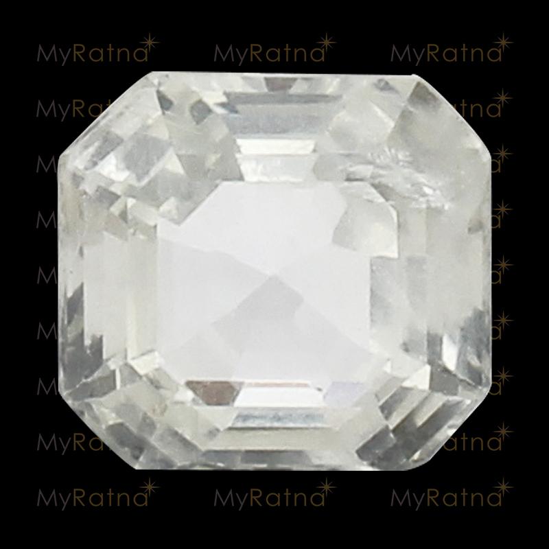 White Sapphire - CWS 10002 (Origin - Ceylon) Limited - Quality - MyRatna