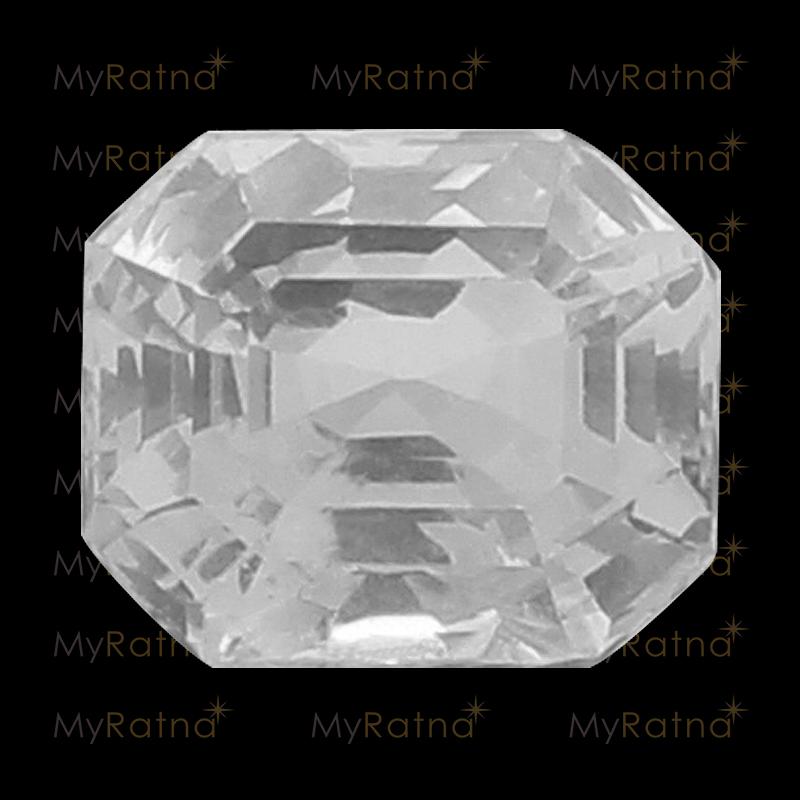 White Sapphire - CWS 10003 (Origin - Ceylon) Limited - Quality - MyRatna