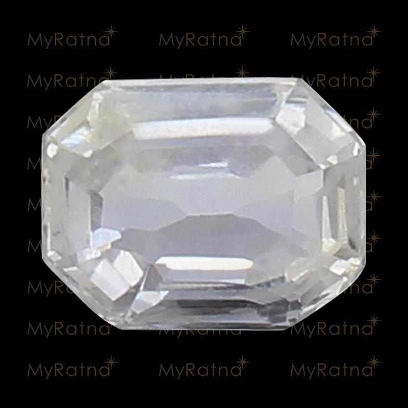 White Sapphire - CWS 10004 (Origin - Ceylon) Limited - Quality - MyRatna