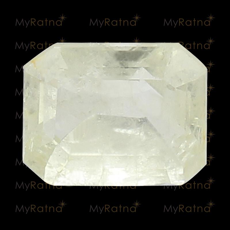 White Sapphire - CWS 10005 (Origin - Ceylon) Fine - Quality - MyRatna