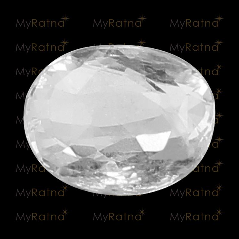 White Sapphire - CWS 10012 (Origin - Ceylon) Fine - Quality - MyRatna