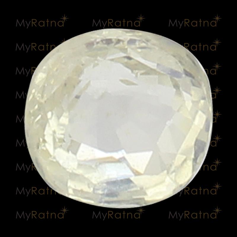 White Sapphire - CWS 10013 (Origin - Ceylon) Fine - Quality - MyRatna