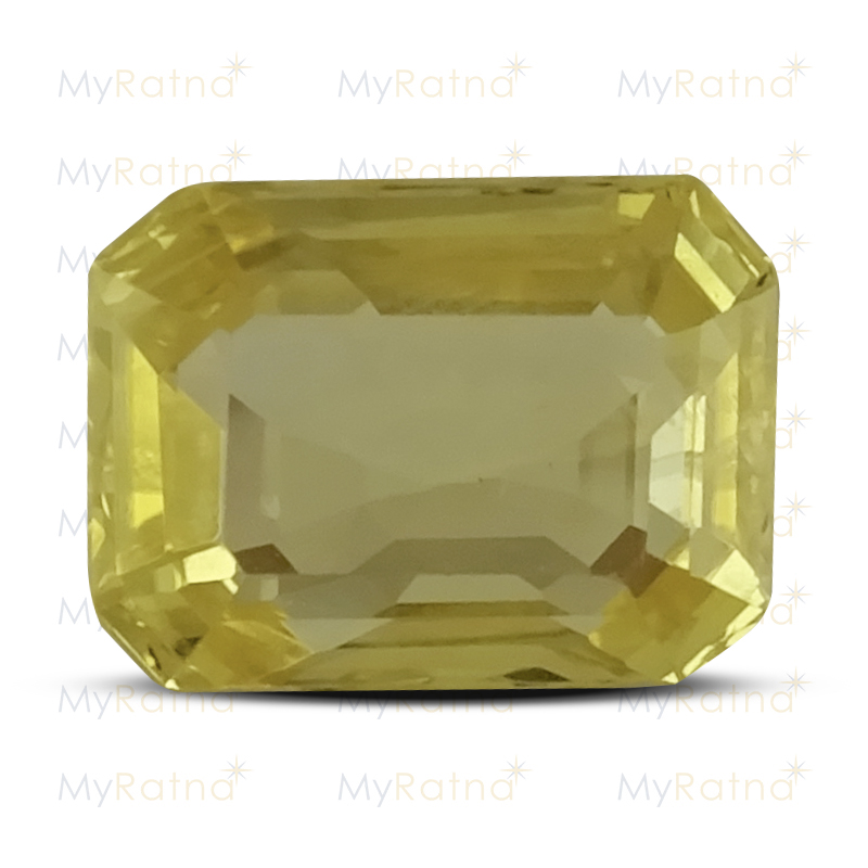 Certified Natural Yellow Sapphire 2.47 Ct (Ceylon) - Limited - MyRatna