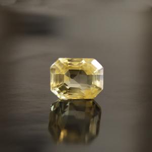 Yellow Sapphire - CYS 3703 (Origin - Ceylon) Rare -Quality - MyRatna