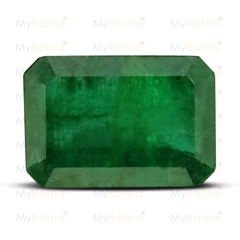 Certified Natural Emerald 3.42 Ct (Zambia) - Fine - MyRatna