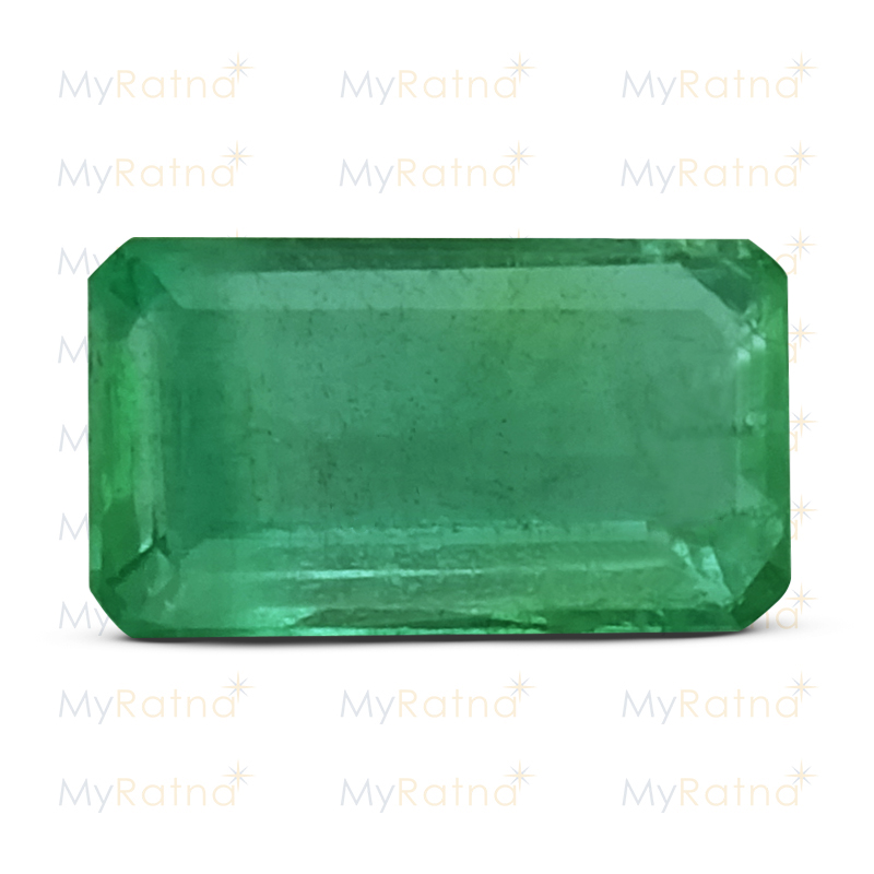 Certified Natural Emerald 2.46 Ct (Zambia) - Prime - MyRatna