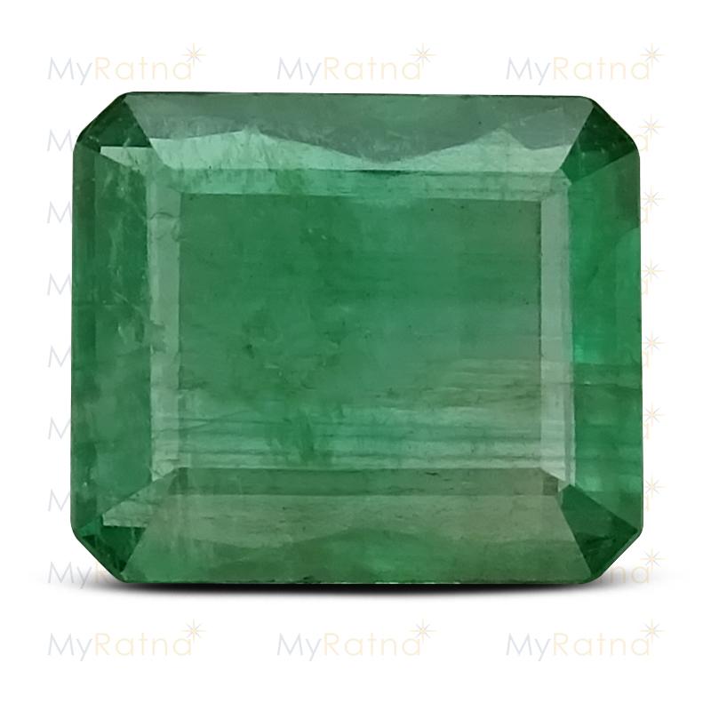 Certified Natural Emerald 3.46 Ct (Zambia) - Prime - MyRatna