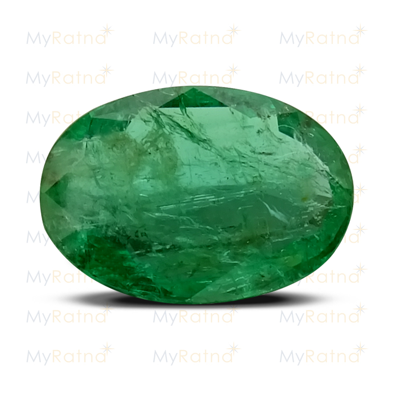 Certified Natural Emerald 3.74 Ct (Zambia) - Prime - MyRatna
