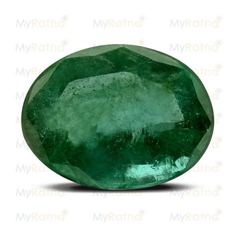 Certified Natural Emerald 3.77 Ct (Zambia) - Prime - MyRatna