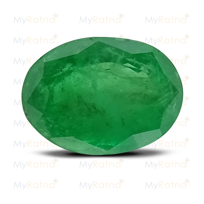 Certified Natural Emerald 3.48 Ct (Zambia) - Prime - MyRatna