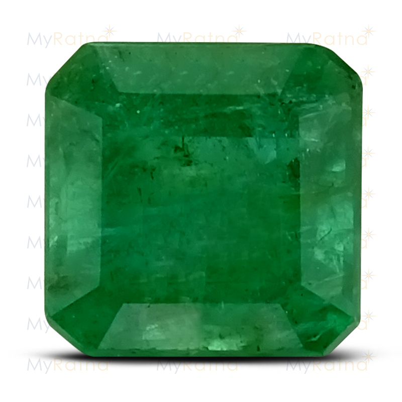 Certified Natural Emerald 3.39 Ct (Zambia) - Fine - MyRatna