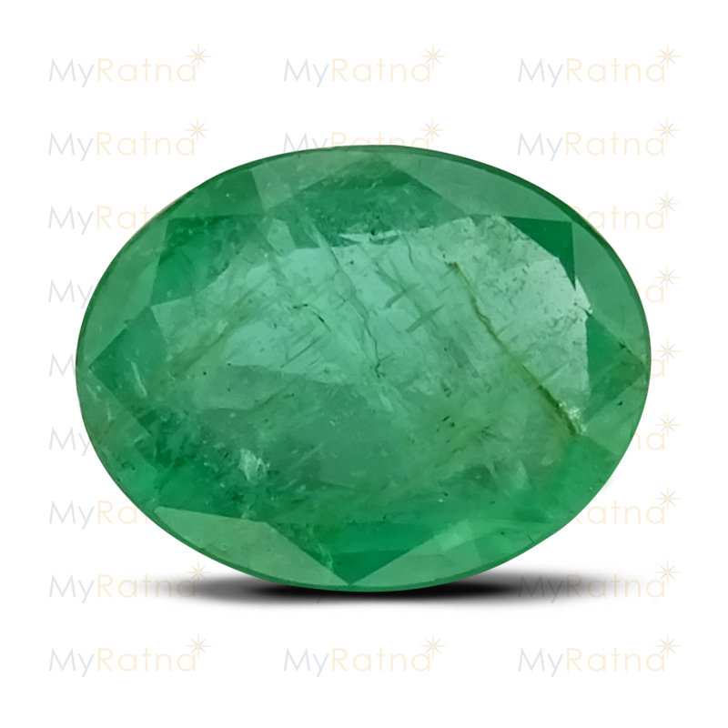 Certified Natural Emerald 3.7 Ct (Zambia) - Prime - MyRatna