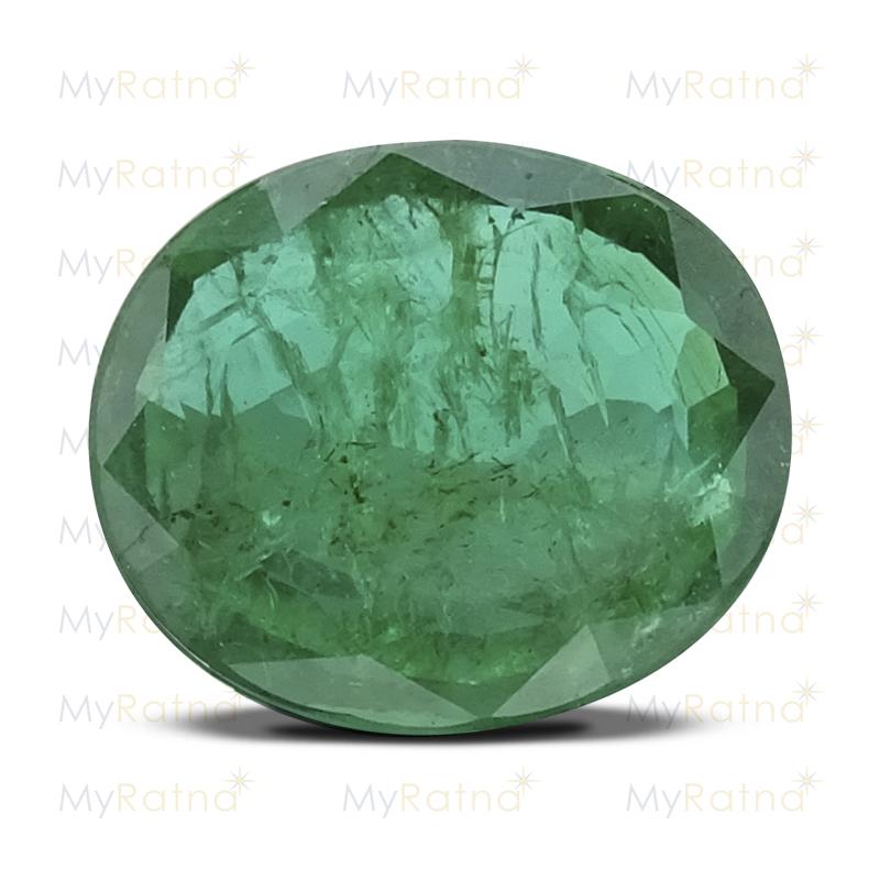 Certified Natural Emerald 3.13 Ct (Zambia) - Prime - MyRatna