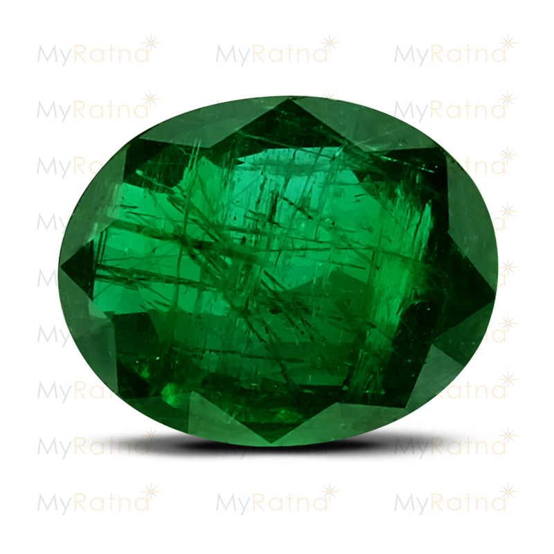 Certified Natural Emerald 3.88 Ct (Zambia) - Limited - MyRatna