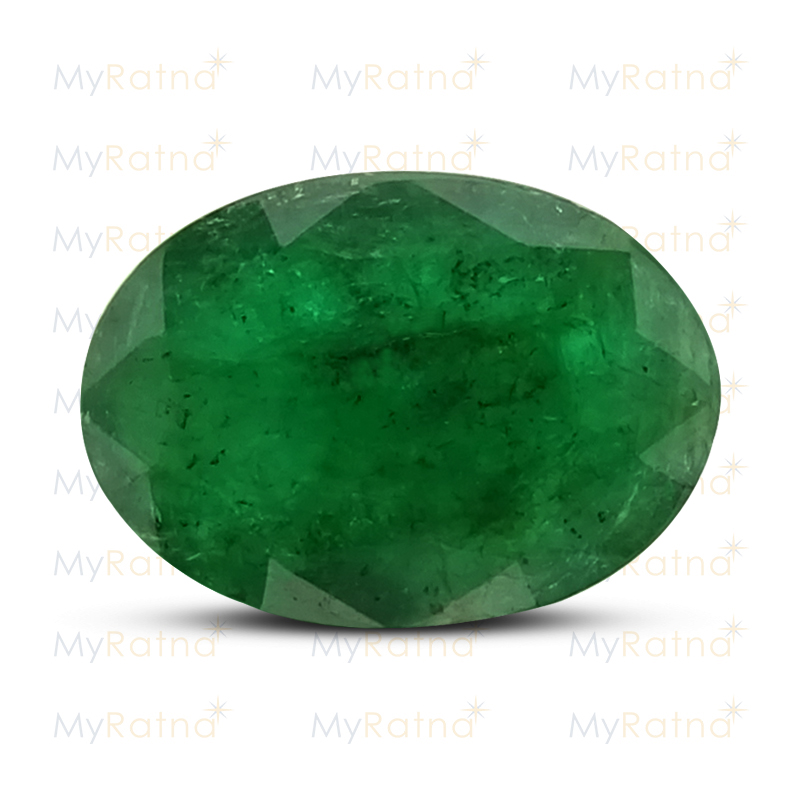 Certified Natural Emerald 2.85 Ct (Zambia) - Fine - MyRatna