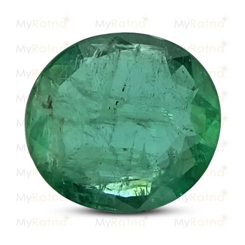 Certified Natural Emerald 5.71 Ct (Zambia) - Prime - MyRatna